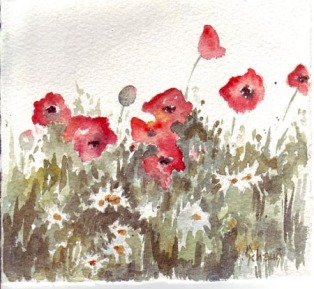 Poppies by Janet Schaus